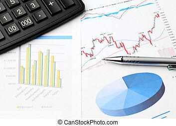 Financial data chart