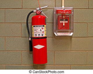 Fire Extinguisher and Alarm 2