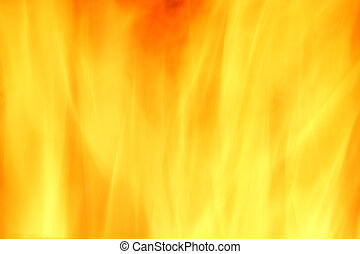 Fire yellow abstract background