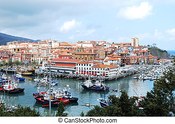 Fishing Village of Bermeo, Basque Country, Spain