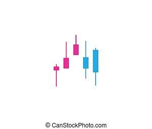 Forex market vector icon