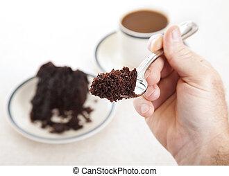 Forkful of Cake