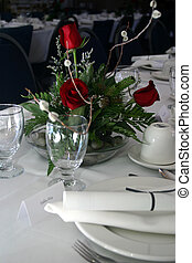 A High-Res photo of a formal banquet