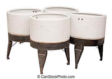 Four Vintage Wash Tubs