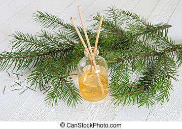 Fragrance coniferous sticks or Scent diffuser