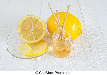 Fragrance Lemon sticks or Scent diffuser