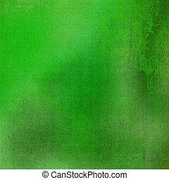 fresh green grunge stained textured background