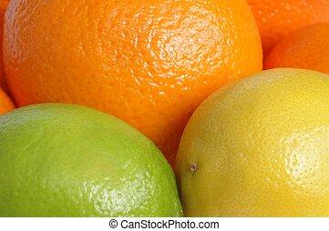 Fruits macro