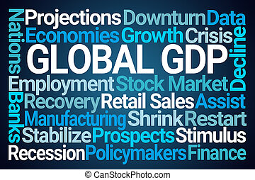 Global GDP Word Cloud
