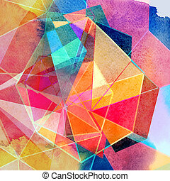 graphic abstract background