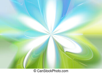 green nature flower eco color blue sky green grass background