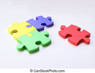 Jigsaw Puzzles in 3D