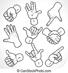 Hands Drawing