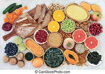 Health Food for a High Fibre Diet