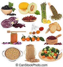Healthy Food Sampler