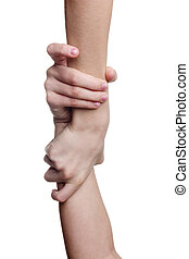 helping hand - conceptual image