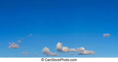 bright sky panorama