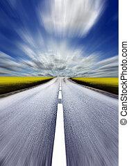 Highway/motion blur