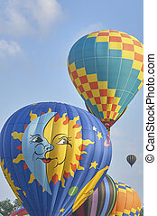 Hit Air Balloons in flight and inflating