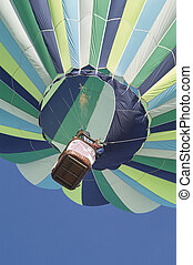 Hot Air Balloon Rising