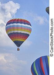 Hot Air Balloons in flight