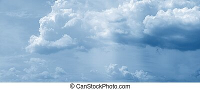 Huge cloud panorama