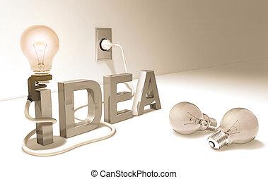 Concept of good idea.