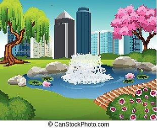 Illustration of City Park