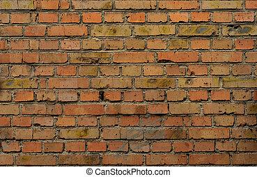 Industrial Brick Wall