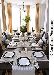 Interior view of Diningroom