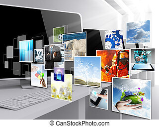 internet streaming images