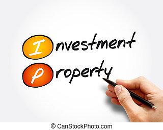 IP - Investment Property acronym