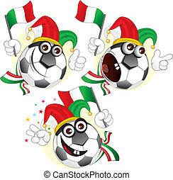 Italian cartoon ball