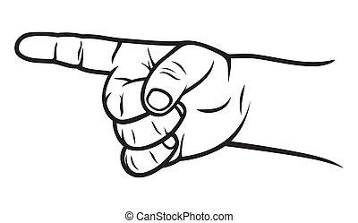 kid finger pointer