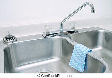 Kitchen sink interior