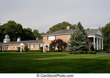 Large Brick House