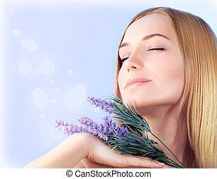 Lavender spa aromatherapy
