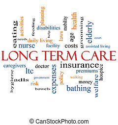 Long Term Care Word Cloud Concept