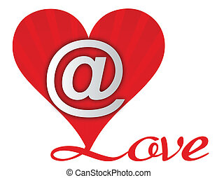 Love Heart Email