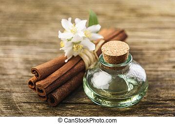 Massage aromatic oil