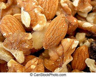 Mixed nuts macro