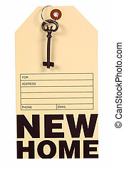New Home Tag