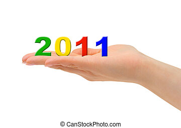 Numbers 2011 in hand