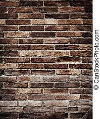 Old brick wall grungy texture