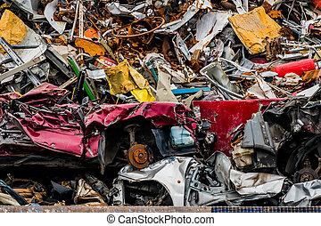 cars were scrapped