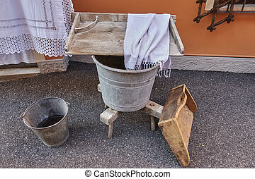 old laundry in the farm