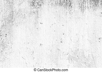 Old white grunge concrete wall
