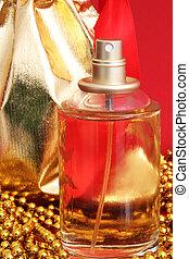 One bottle of perfume