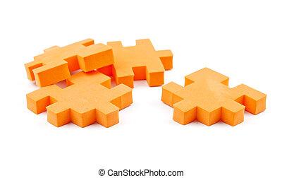 orange puzzle