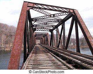 original version of my railroad bridge